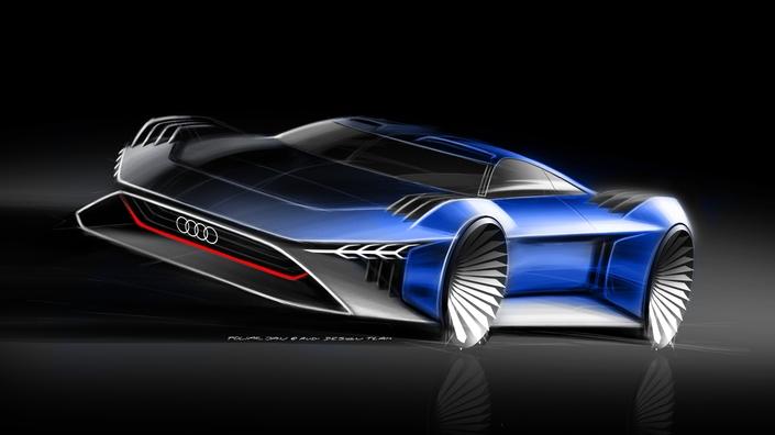 Audi dévoile le concept (virtuel) RSQ e-tron