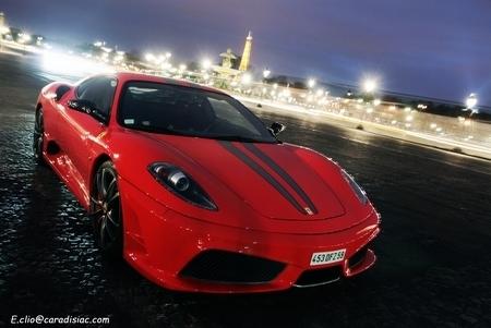 Le voleur de la Ferrari F430 de Randy De Puniet mis en examen et écroué