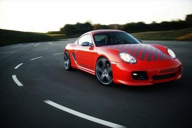 Porsche Cayman Rinspeed Imola : Ptit Suisse !
