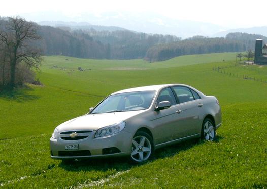 Essai - Chevrolet Epica L6 : haut de gamme à la sauce allégée