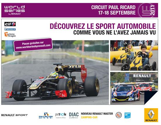World Series by Renault au HTTT Paul Ricard : les Prost père et fils en démonstration F1