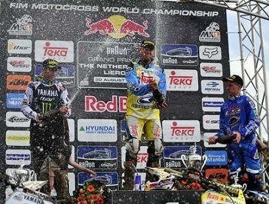 GP Cross à Lierop : Ken De Dycker trop fort, et Cairoli champion du monde