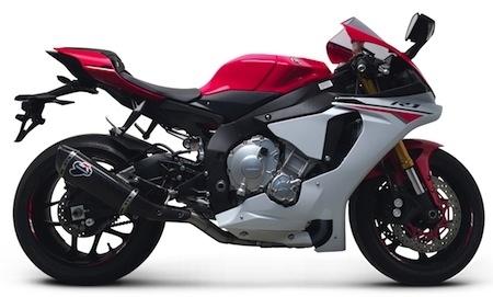 Termignoni: de l'Inconel pour la Yamaha R1 (2015)