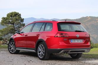 Volkswagen Golf 7 SW Alltrack : en avant-première, les photos de l'essai