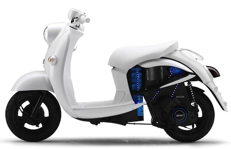 Yamaha: concept bike au salon de Tokyo