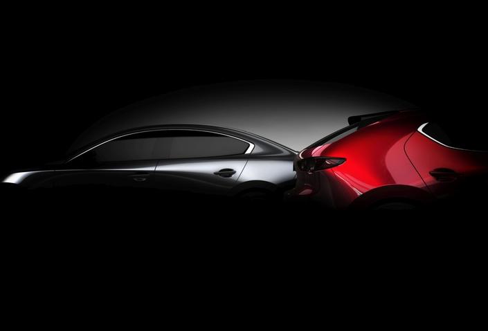 Mazda annonce la nouvelle compacte 3, dévoilée fin novembre