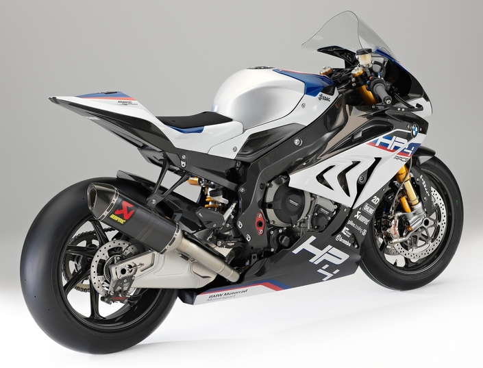 BMW HP4 Race: 171 kilos de muscles