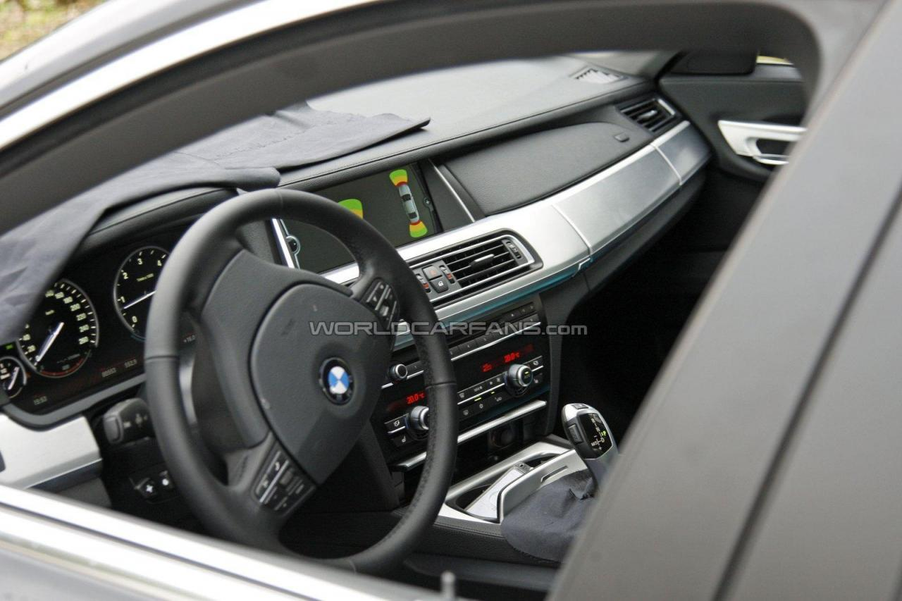 Surprise la future bmw serie 7 restyl e d voile son for Future interieur