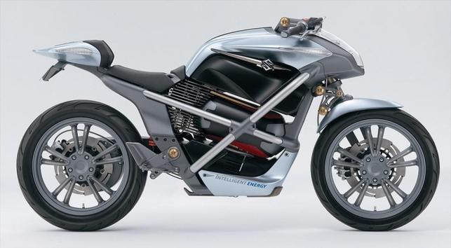 Salon de Tokyo : la Crosscage de Suzuki, un prototype de moto à hydrogène