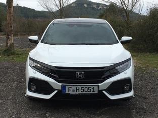 Honda Civic 2017 : les premières images de l'essai en live + les impressions de conduite