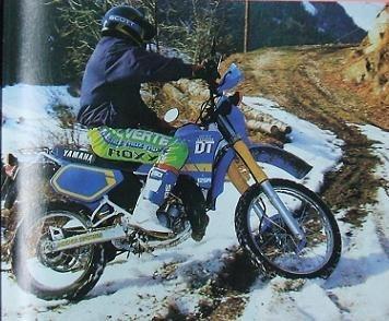 20 ans déjà, la 125 Yamaha DTR