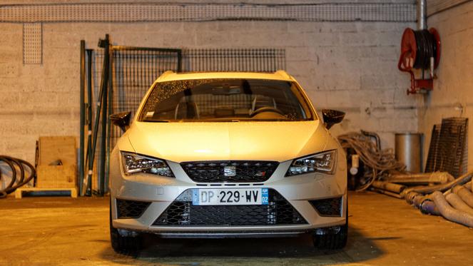 Essai - Seat Leon ST Cupra : break emoción