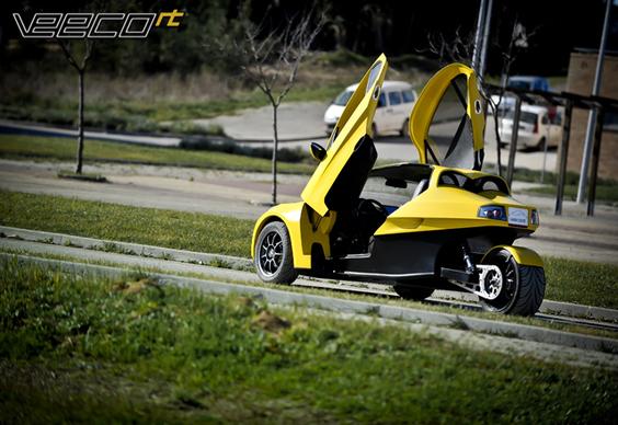 Veeco RT: un trois roues électrique