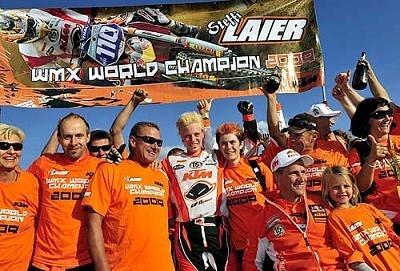 WMX : Steffi Laier championne du monde 2009