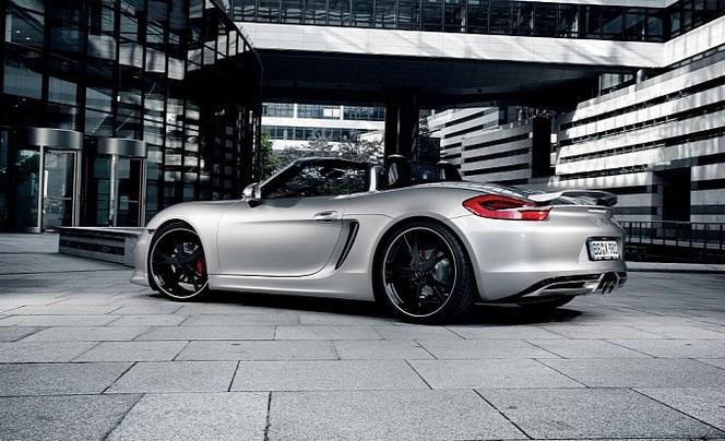 Techart retouche le Porsche Boxster