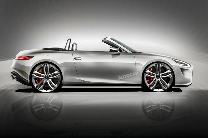 Le futur TT de Mercedes : comme ça ?