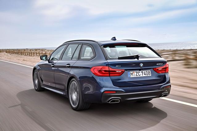 Salon de Genève 2017 - BMW Série 5 Touring: volume chic