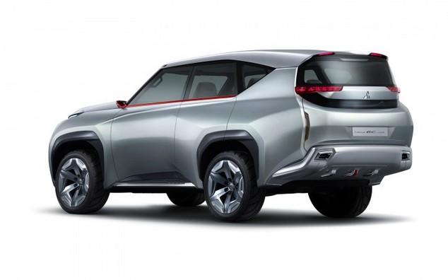 Toutes les nouveautés du salon de Genève 2014 - Mitsubishi GC-PHEV: le futur Pajero en filigrane