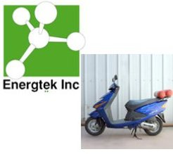 Angstore Technologies Ltd/Energtek Inc : le Gaz Naturel Adsorbé pour un deux-roues !