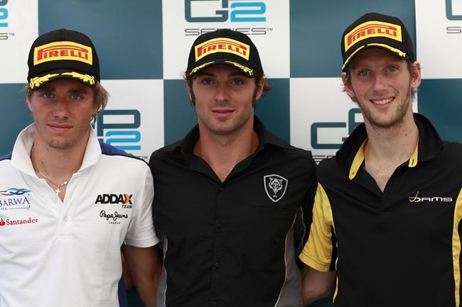 GP2 Monza Courses 1 et 2 : Filippi coiffe Bianchi et Pic pour la place de dauphin