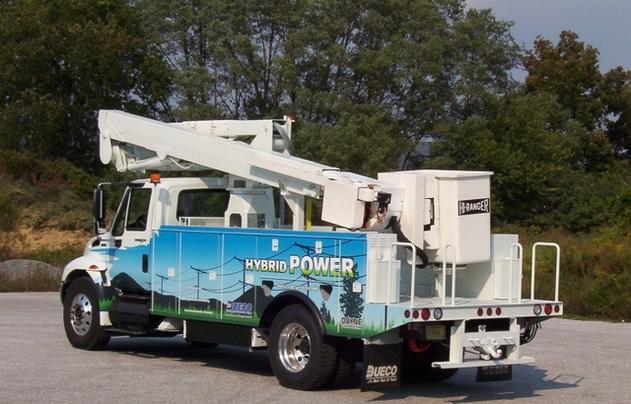 Odyne Corporation/Dueco, Inc. : zoom sur leur véhicule utilitaire plug-in hybride/électrique diesel