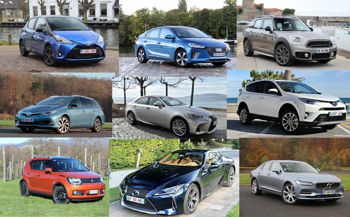 De la citadine au coupé sportif, l'offre de modèles hybrides s'élargit progressivement.