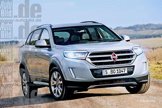 Surprise : le futur SUV Borgward