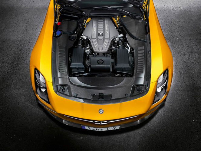 Voici la nouvelle Mercedes SLS AMG Black Series