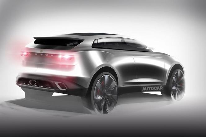 Futur crossover Lotus : comme ça ?