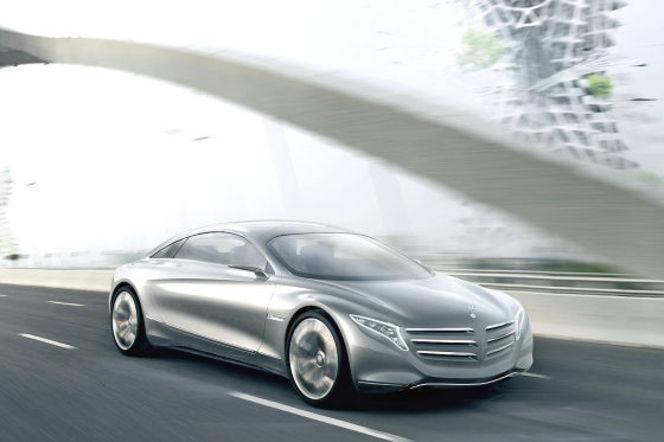 Salon de Francfort 2011 - Mercedes F125 Concept, le Classe CL de 2025