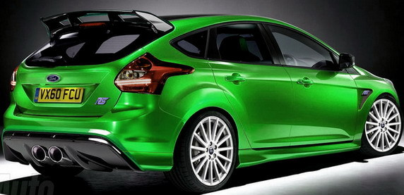 Future Ford Focus RS : 4 cylindres 2.3l turbo 350 ch et toujours traction