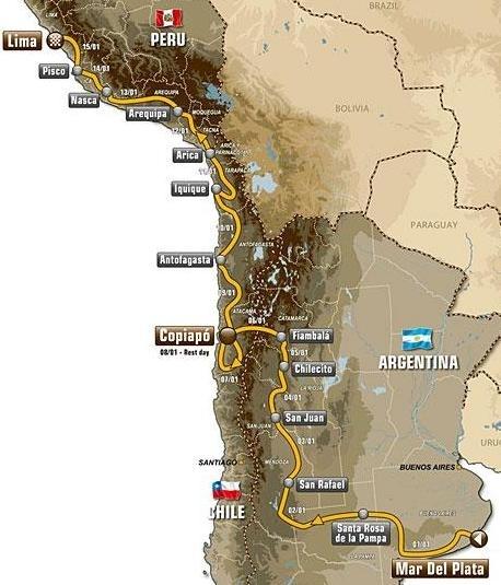 Dakar 2012 : C'est le Pérou !