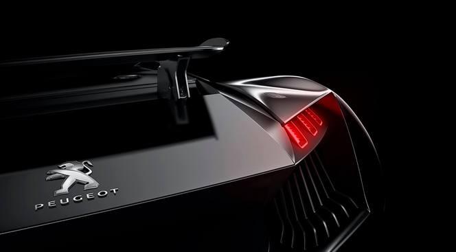Peugeot nous donne une nouvelle image de son concept de supercar