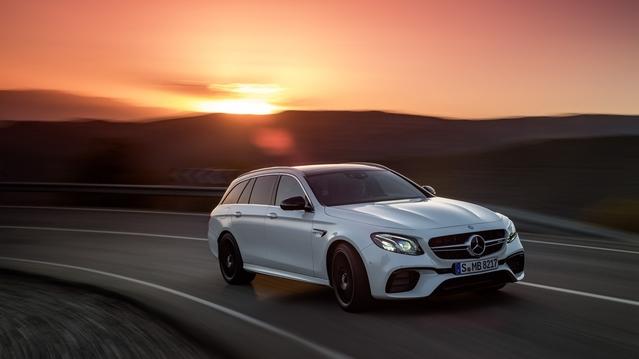 Salon de Genève 2017 : la Mercedes E63 AMG s'allonge pour devenir le break le plus rapide du marché