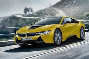 Salon de Genève 2017 : la BMW i8 en jaune et noir