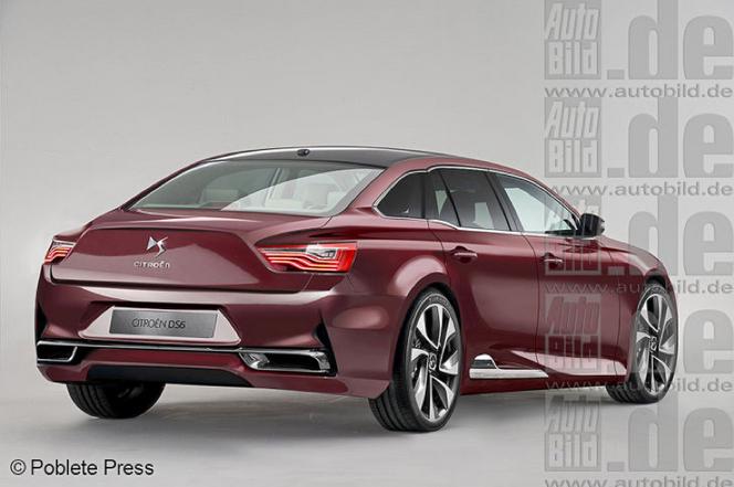 Future Citroën DS6: comme ça?
