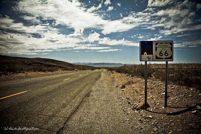 Caradisiac sur la Route 66 - En attendant la chevauchée fantastique...