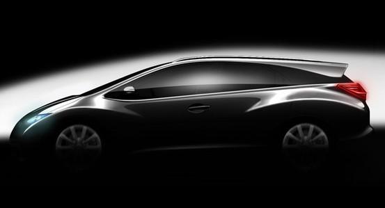 Future Honda Civic Tourer: comme ça?