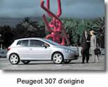 Peugeot 307 AS Design : la voiture de l'année 2002 entre en scène