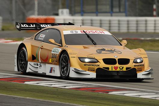 DTM - Zanardi en test avec BMW