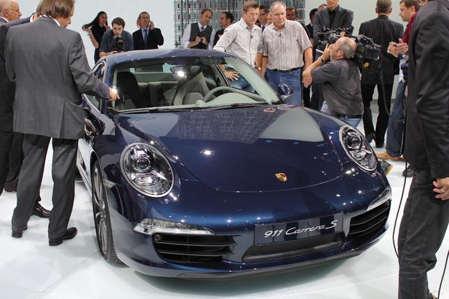 Vidéo en direct du salon de Francfort 2011 - Porsche 911 : le mythe