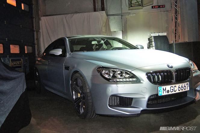La BMW M6 Gran Coupé dévoilée
