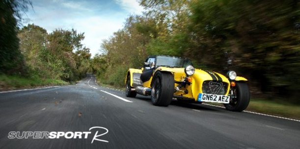 Caterham ajoute une Seven Supersport R de 180 ch au catalogue