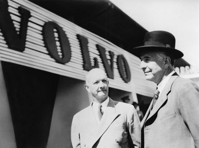 Les fondateurs de Volvo