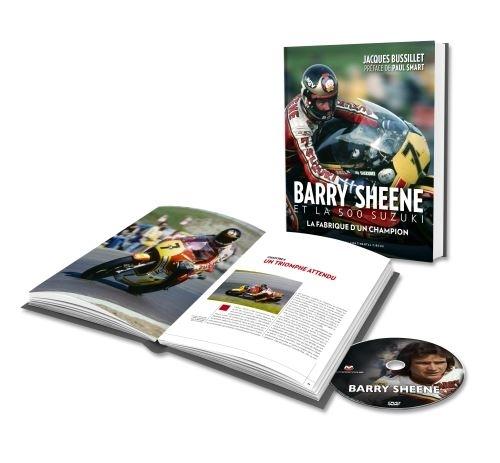 Un livre sur Barry Sheene par J. Bussillet le 25 octobre.