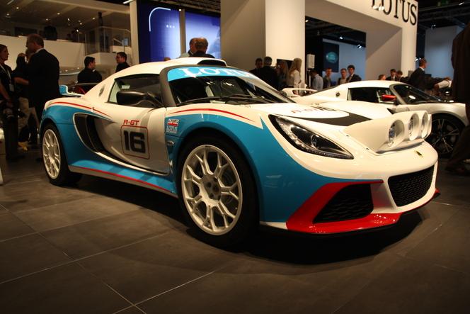 En direct du salon de Francfort 2011 - Lotus Exige R-GT, la bête de circuit se convertit au rallye
