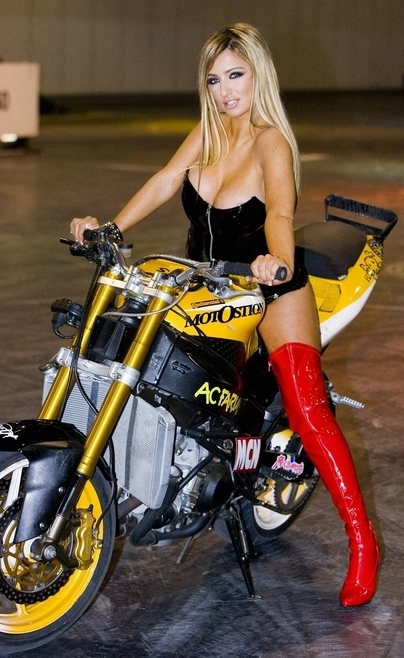 Moto & Sexy : Chantelle Houghton