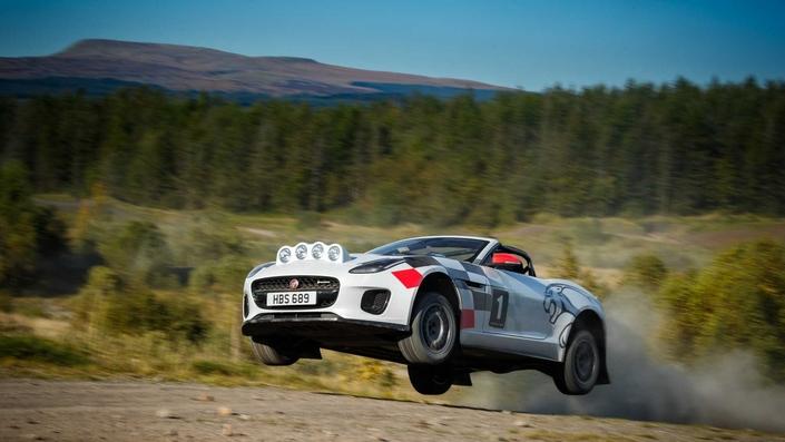 Jaguar dévoile une F-Type pour le rallye