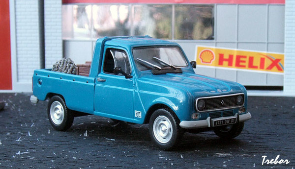 portfolio miniature 1 43 me renault 4 pick up. Black Bedroom Furniture Sets. Home Design Ideas