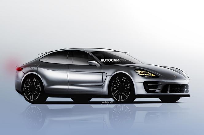 """Future Porsche """"Pajun"""" : comme ça ?"""